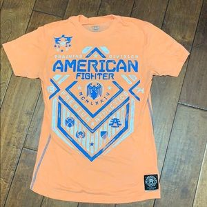 Men's American fighter shirt.